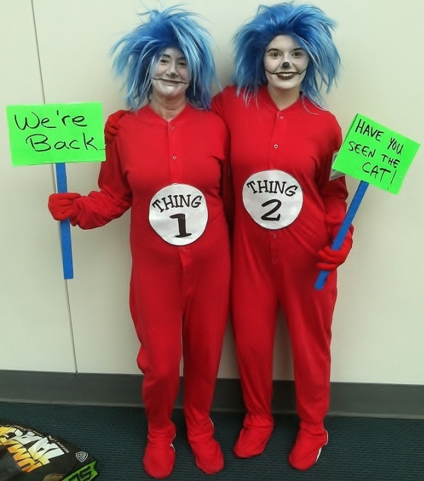 Thing 1 and Thing 2 at Comic-Con 2013