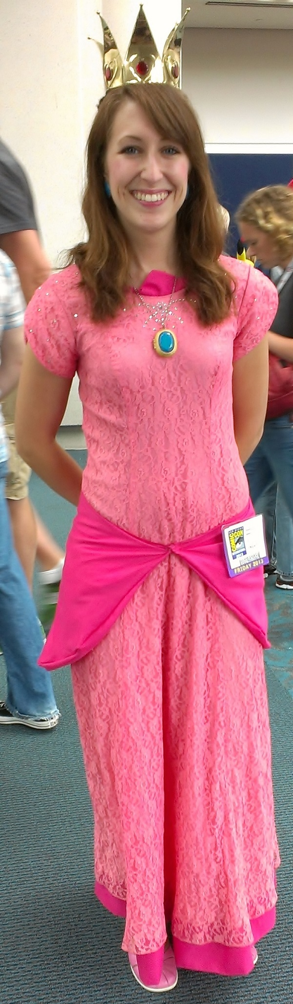 Princess Cosplayer at Comic-Con 2013