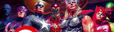 Alex Ross, comic book illustrator, Avengers