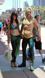 Aquaman Sexy Cosplay at San Diego Comic-Con 2013