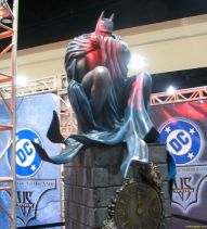 Batman Statue at Comic Con