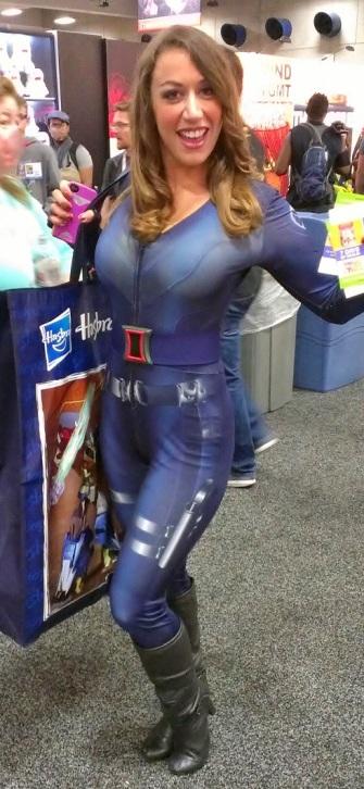 Black Widow sexy costume