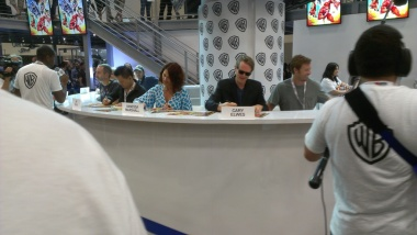 Celebrities at the Comic-Con 2013
