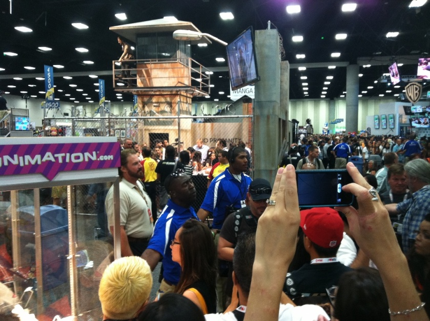 Walking Dead actors at Comic-Con