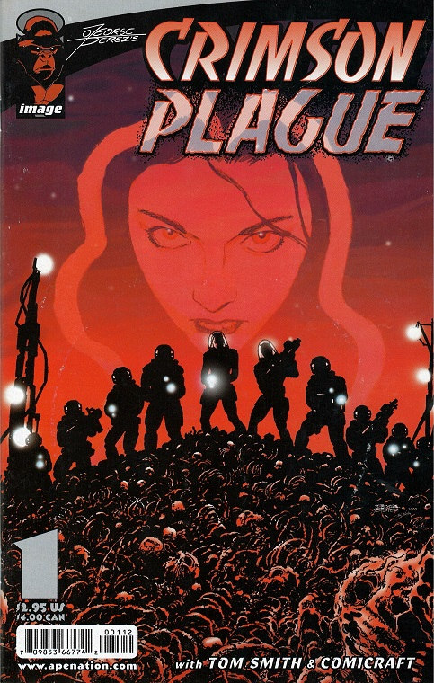 Crimson Plague #1 by George Perez
