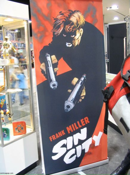 Comic Con Dark Horse Booth - Sin City