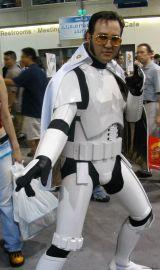 Comic Con Cosplay - Elvis Stormtrooper