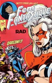 Femforce's on cover of Fem Fantastique