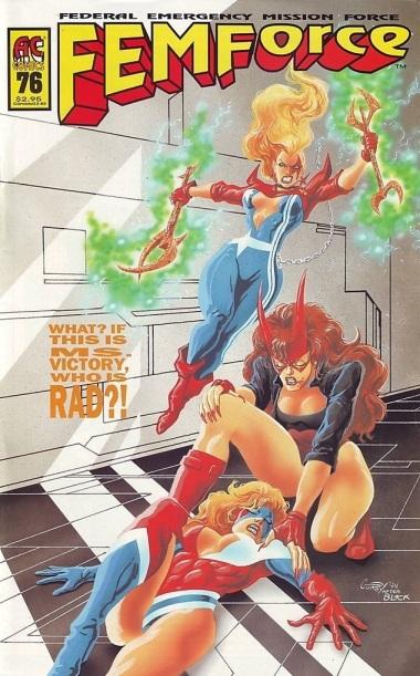 Femforce comic book #76