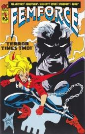 Femforce comic book #92