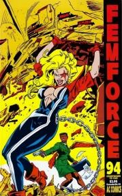 Femforce comic book #94