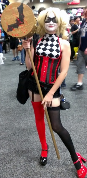 Harley Quinn corset costume