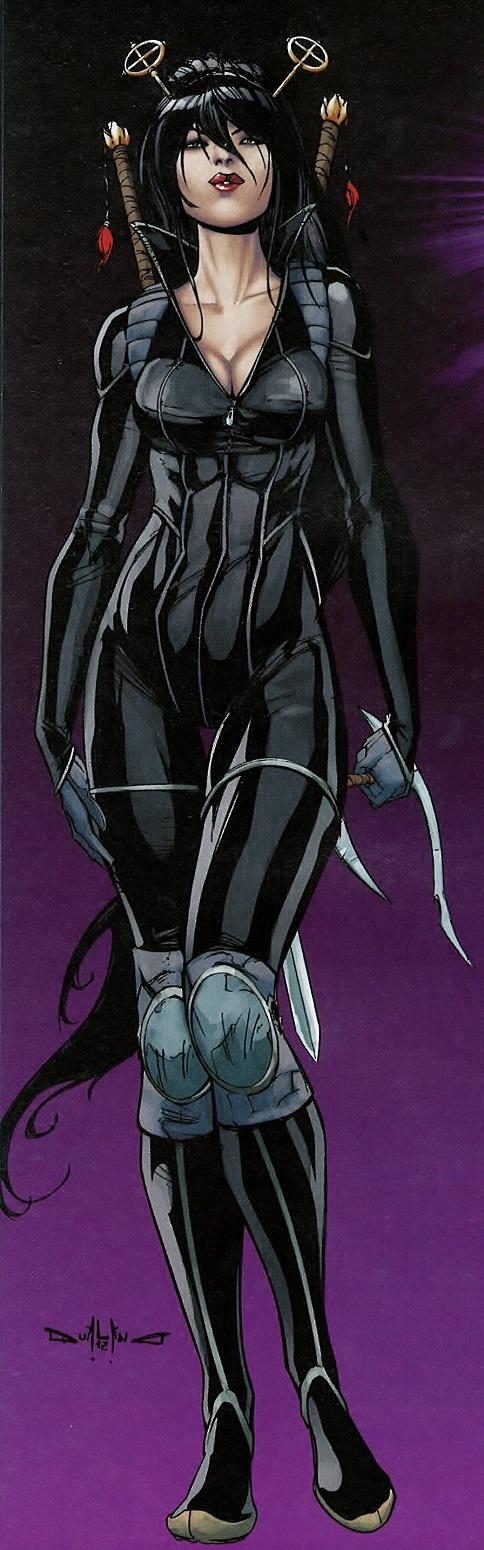 Iris Assassin, Aspen Comics