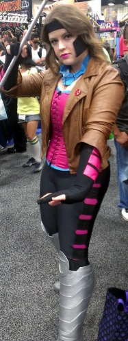 Lady Gambit at Comic-Con