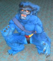 Comic Con Cosplay - X-Men Beast by a little kid