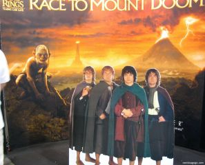 Comic Con Display - Lord of the Rings