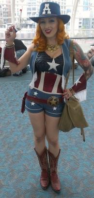 Sexy Miss Captain America