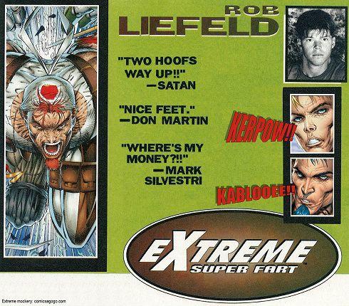 Rob Liefeld Extreme Comics