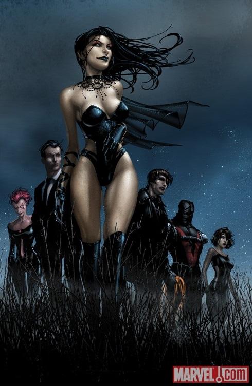 Sexy Selene, the Black Queen