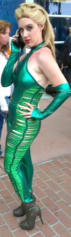 Sexy cosplayer at Comic-Con