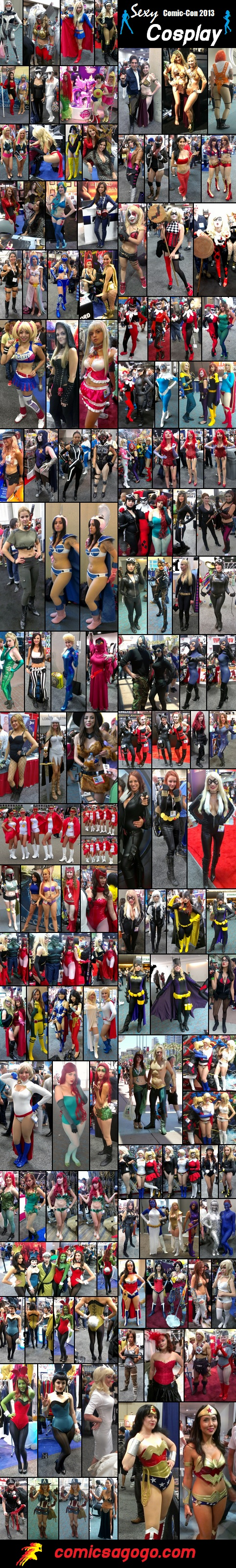Sexy Cosplay at San Diego Comic-Con 2013