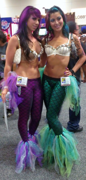 Sexy Mermaid Girls, Cosplay at San Diego Comic-Con