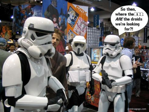 Storm Troopers at the Comic Con