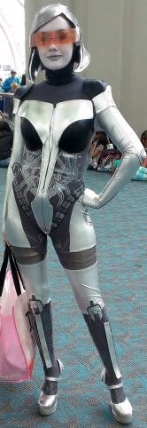 Mass Effect Sexy Cosplay at San Diego Comic-Con 2013