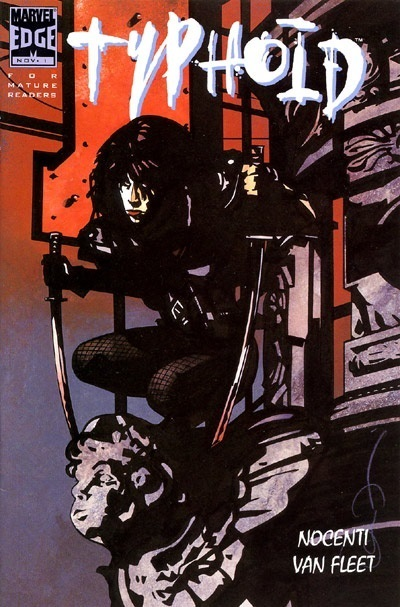 Typhoid Mary comic book miniseries, #1