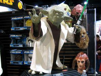 Yoda Statue at Comic-Con
