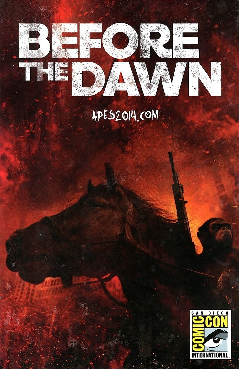 Promo Comic for Before the Dawn of the Planet of the Apes