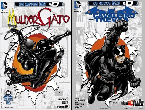Catwoman and Batman 52 #0 issues from Brazil