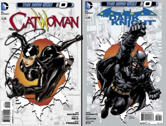 Catwoman and Batman 52 #0 issues from the U.S.A.