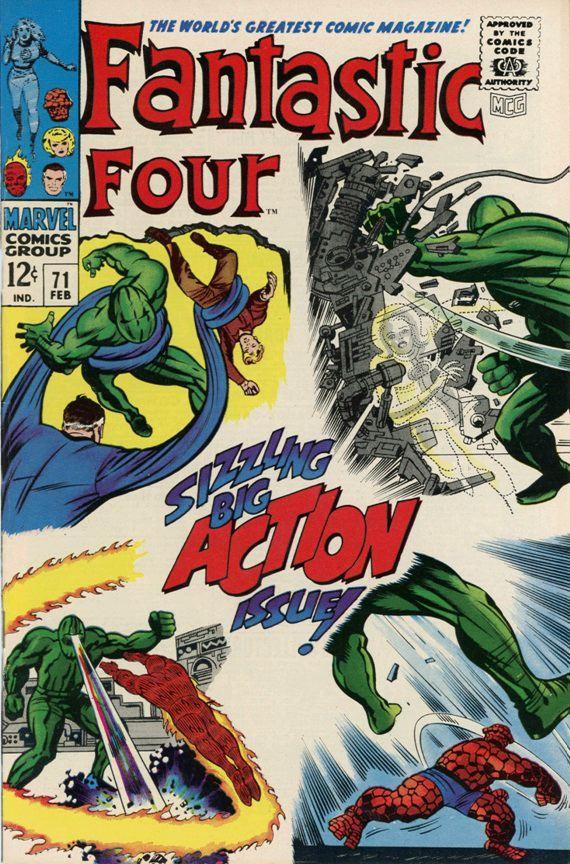 Fantastic Four #71