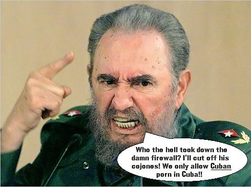 Fidel Castro humor