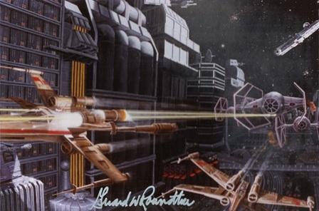 Girard Roundtree, Star Wars Painting 102 thumb
