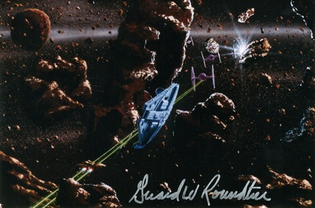 Girard Roundtree, Star Wars Painting 103 thumb