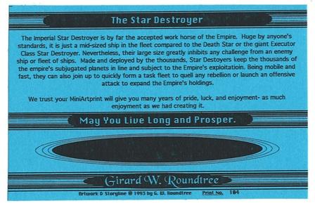 Girard Roundtree, Star Wars Painting 104 thumb