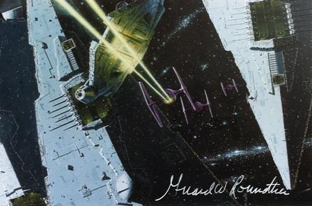 Girard Roundtree, Star Wars Painting 105 thumb