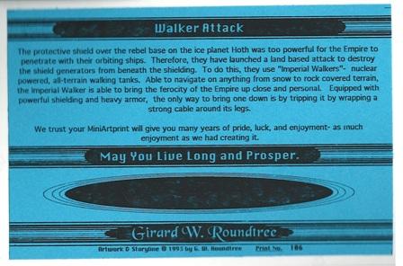 Girard Roundtree, Star Wars Painting 106 thumb