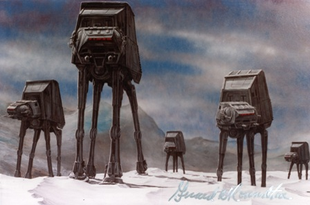 Girard Roundtree, Star Wars Painting 106 thumb