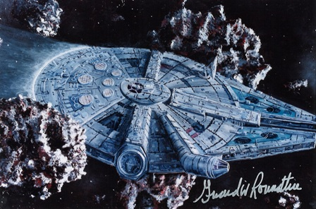 Girard Roundtree, Star Wars Painting 107 thumb