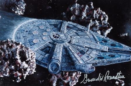 Girard Roundtree, Star Wars Painting 107 thumb