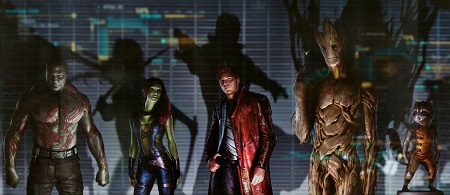 Guardians of the Galaxy character line-up