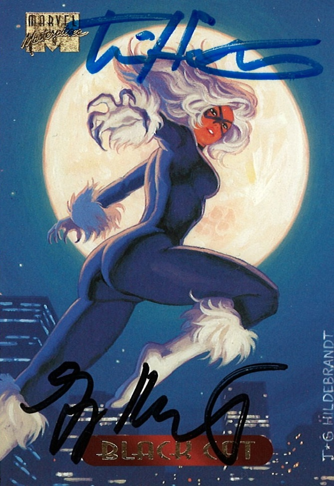 Marvel Masterpieces III, Hildebrandt Brothers (Black Cat)