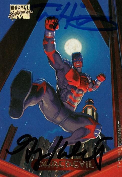Marvel Masterpieces III, Hildebrandt Brothers (Daredevil)
