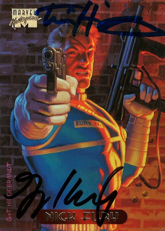 Marvel Masterpieces III, Hildebrandt Brothers (Nick Fury)