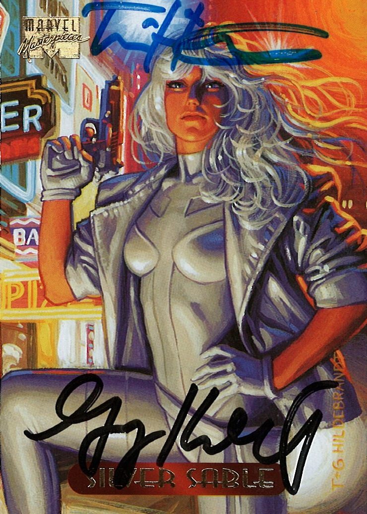 Marvel Masterpieces III, Hildebrandt Brothers (Silver Sable)