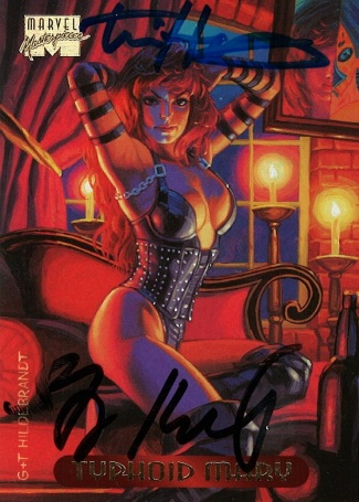 Marvel Masterpieces III, Hildebrandt Brothers (Typhoid Mary)