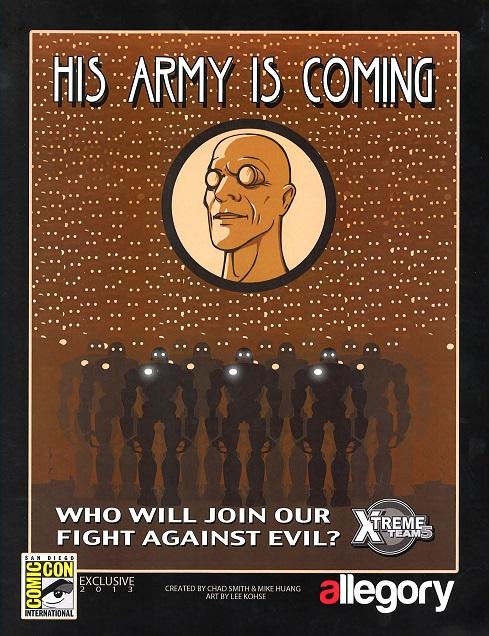 Allegory Comics promo from Comic-Con